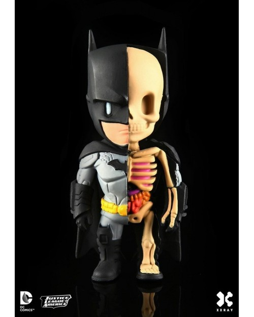 XXRAY x DC COMICS - BATMAN DISSECTED VINYL ART FIGURE (10cm)