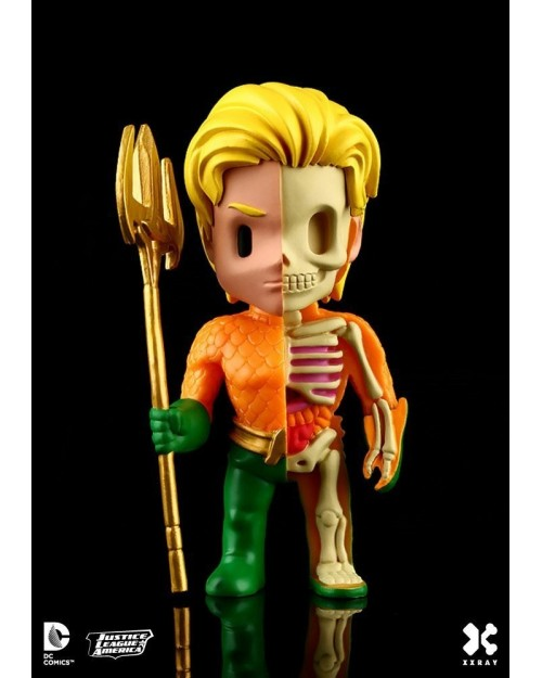 XXRAY x DC COMICS - AQUAMAN DISSECTED VINYL ART FIGURE (10cm)