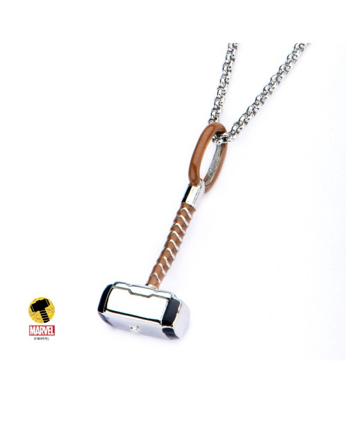 MARVEL COMICS: MIGHTY THOR'S HAMMER PENDANT ON CHAIN NECKLACE