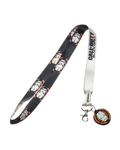 OFFICIAL CALL OF DUTY: BLACK OPS III SYMBOL PRINTED LANYARD