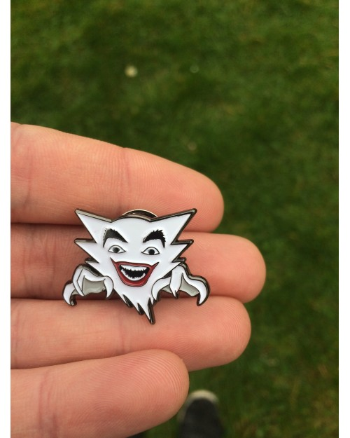 POKEMON x 1966 BATMAN TV SERIES JAUNTER (HAUNTER AND THE JOKER) ENAMEL PIN BADGE