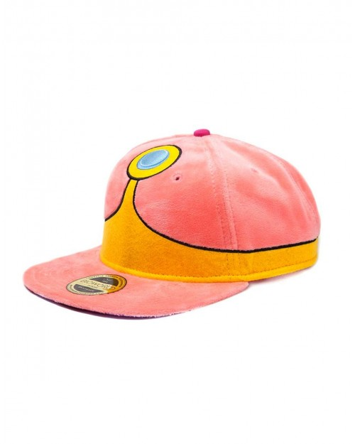 OFFICIAL ADVENTURE TIME - PRINCESS BUBBLEGUM PLUSH COSTUME STYLED SNAPBACK CAP
