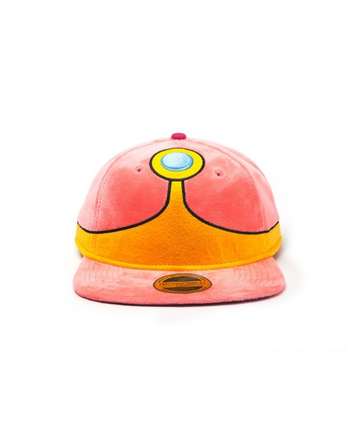 OFFICIAL ADVENTURE TIME - PRINCESS BUBBLEGUM PLUSH COSTUME STYLED SNAPBACK CAP