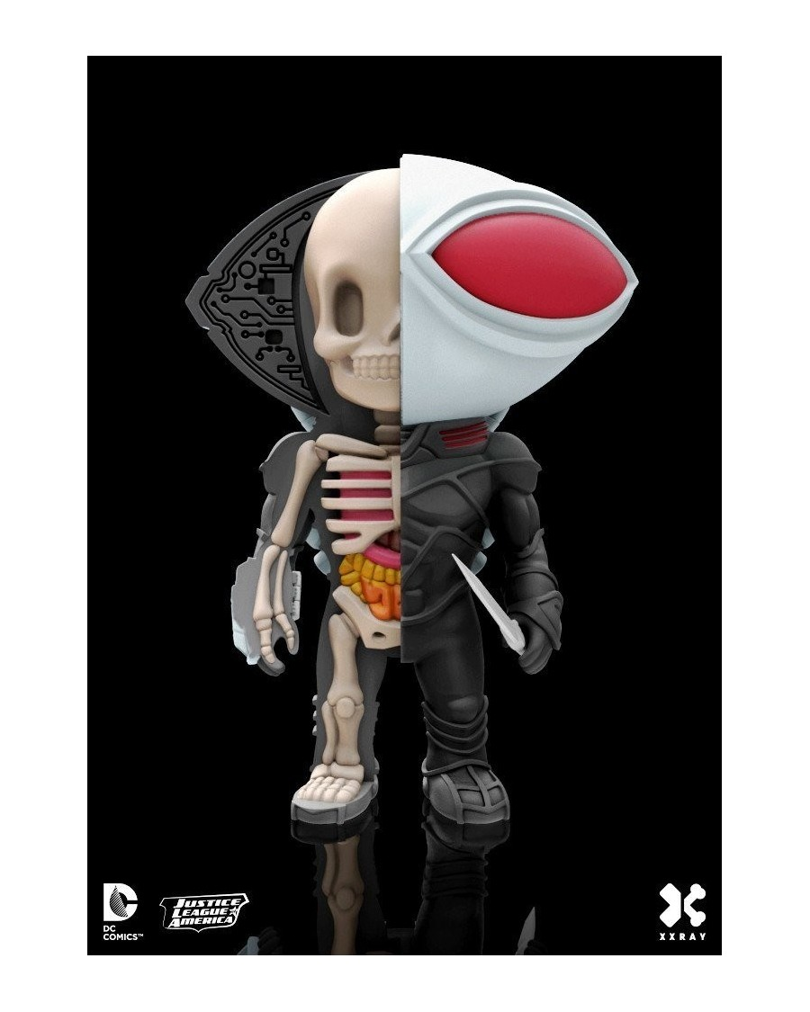 XXRAY x DC COMICS - BLACK MANTA DISSECTED VINYL ART FIGURE (10cm)