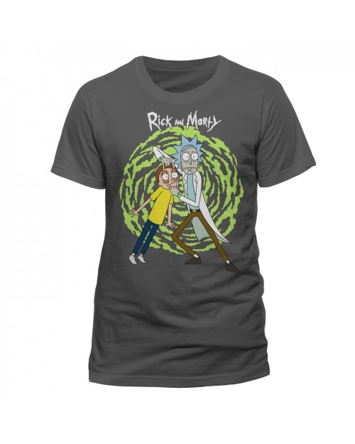 OFFICIAL RICK AND MORTY PORTAL 'LOOK AT THAT THING MORTY' GREYT-SHIRT