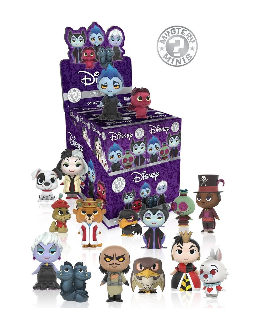 FUNKO MYSTERY MINI BLIND BOX: DISNEY VILLAINS
