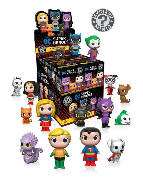 FUNKO MYSTERY MINI BLIND BOX: DC COMICS - SUPER HEROES AND PETS