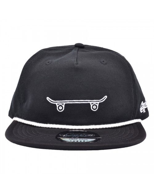CARBON 212 SKATEBOARD SLOUCH SNAPBACK CAP