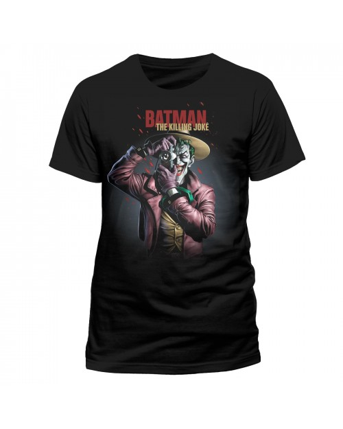 OFFICIAL DC COMICS BATMAN: THE KILLING JOKER - THE JOKER BLACK T-SHIRT