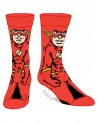 OFFICIAL DC COMICS THE FLASH 360 CREW SOCKS
