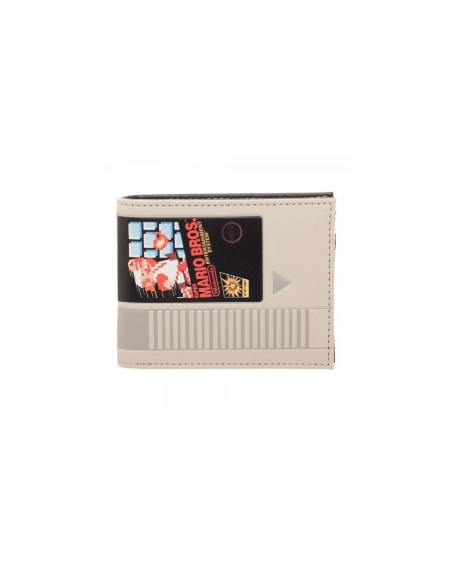 OFFICIAL NINTENDO - SUPER MARIO BROS. - NES CARTRIDGE GREY BI-FOLD WALLET
