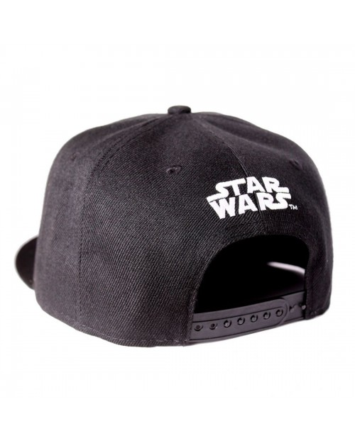 OFFICIAL STAR WARS - 40th ANNIVERSARY BLACK SNAPBACK CAP