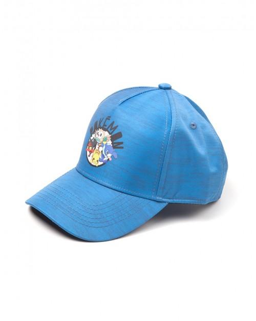 OFFICIAL NINTENDO - POKEMON SUN AND MOON PRINTED CURVED BASEBALL CAP