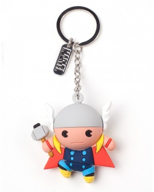 OFFICIAL MARVEL COMICS - THE MIGHTY THOR 3D RUBBER KEYRING
