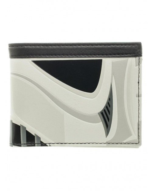 OFFICIAL STAR WARS STORMTROOPER MASK STYLED BIFOLD WALLET