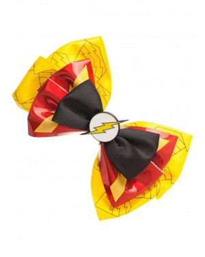 DC COMICS: THE FLASH SYMBOL AND COLOURS HAIR BOW