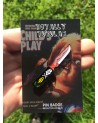 CHILD'S PLAY - CHUCKY'S KNIFE ENAMEL METAL PIN BADGE