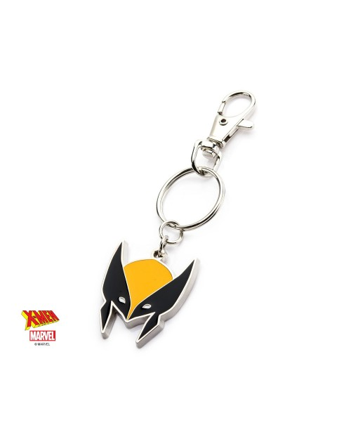 OFFICIAL MARVEL COMICS - X-MEN WOLVERINE MASK ENAMEL METAL KEYRING