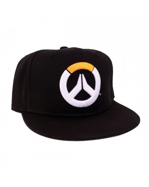 OFFICIAL OVERWATCH SYMBOL BLACK SNAPBACK CAP