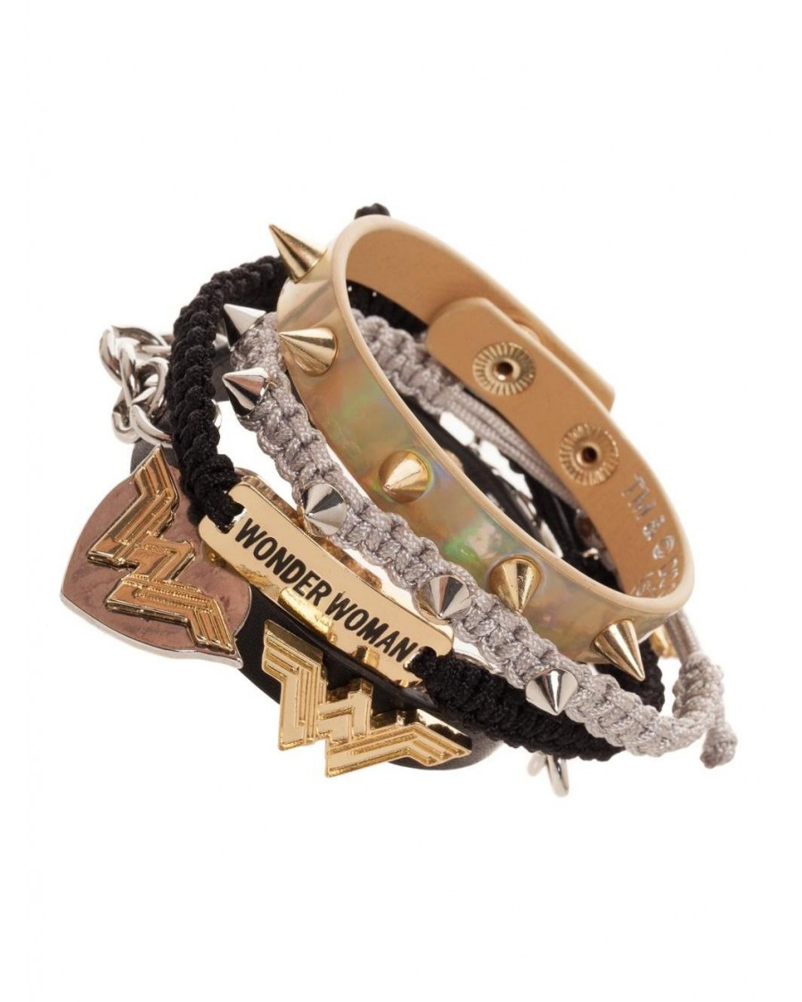 DC COMICS - WONDER WOMAN (MOVIE) 5 PIECE ARM PARTY BRACELET