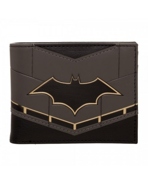 OFFICIAL DC COMICS - BATMAN REBIRTH SUIT UP BLACK BI-FOLD WALLET