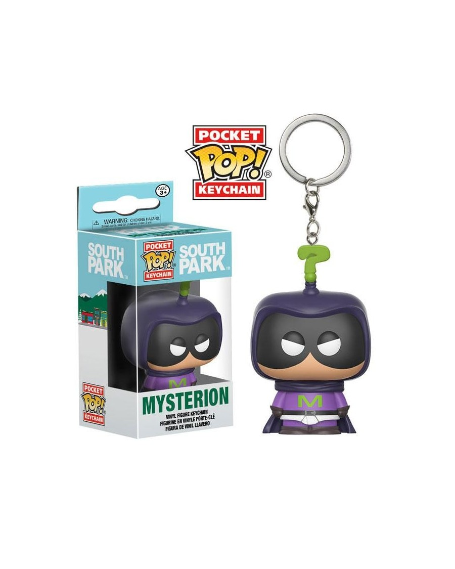 OFFICIAL SOUTH PARK: THE FRACTURED BUT WHOLE - MYSTERION POCKET POP! VINYL KEYRING