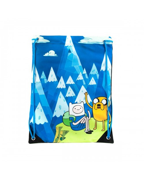 OFFICIAL ADVENTURE TIME - BLUE MOUNTAIN FINN & JAKE SPORTS/ GYM BAG