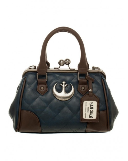 OFFICIAL STAR WARS - REBEL ALLIANCE SYMBOL HAN SOLO COSTUME STYLED HANDBAG