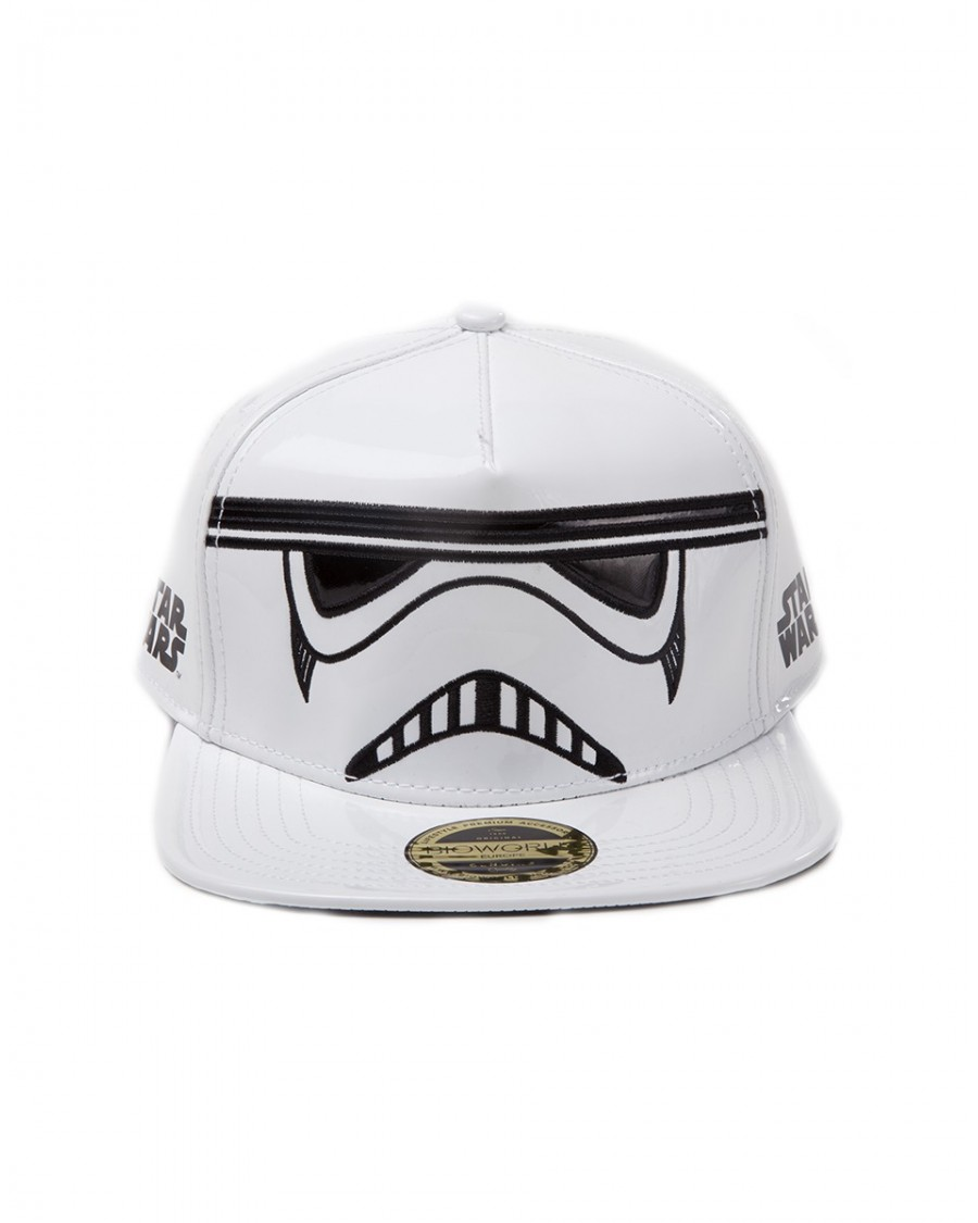 STAR WARS - STORMTROOPER PU MASK WHITE SNAPBACK CAP