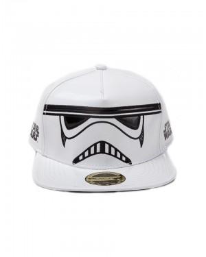 STAR WARS - STORMTROOPER PU MASK WHITE SNAPBACK CAP