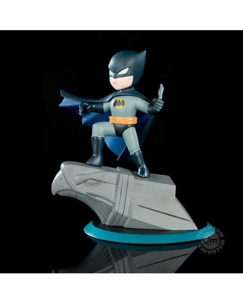 QUANTUM MECHANIX x DC COMICS - 1966 BATMAN Q-FIG MINI FIGURE (9 cm)