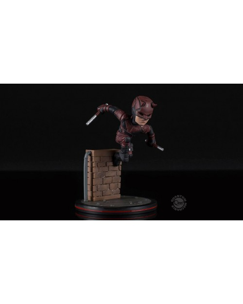 QUANTUM MECHANIX x MARVEL COMICS - DAREDEVIL Q-FIG MINI FIGURE (12 cm)