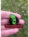 ODDWORLD: ABE'S ODDYSEE - RUPTURE FARMS LOGO ENAMEL METAL PIN BADGE BY TOTALLY TUBULAR