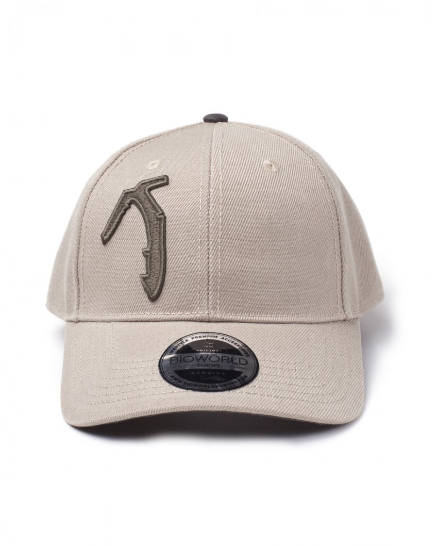 OFFICIAL TOMB RAIDER - AXE BEIGE CURVED BILL BASEBALL CAP