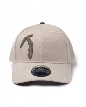 OFFICIAL TOMB RAIDER - AXE BEIGE CURVED BILL BASEBALL CAP