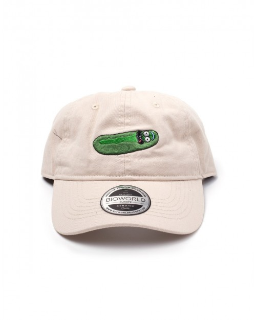 OFFICIAL RICK AND MORTY - PICKLE RICK BEIGE DAD HAT