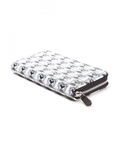 OFFICIAL STAR WARS - STORMTROOPER TILED ZIPPER PURSE/ WALLET