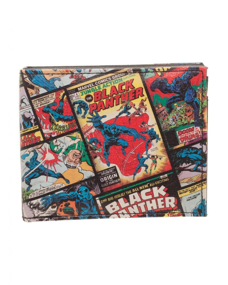 OFFICIAL MARVEL COMICS - BLACK PANTHER COMIC PRINT BI-FOLD WALLET