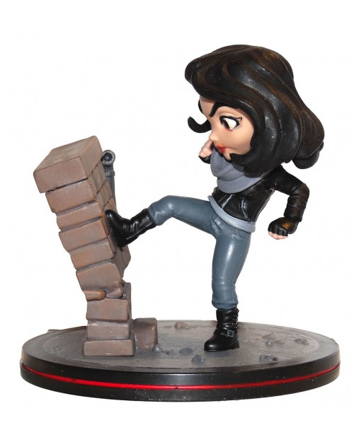 QUANTUM MECHANIX x MARVEL COMICS - JESSICA JONES Q-FIG MINI FIGURE (9 cm)