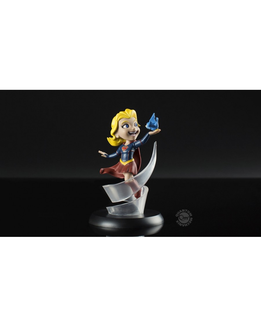 QUANTUM MECHANIX x DC COMICS - SUPERGIRL Q-FIG MINI FIGURE (12 cm)