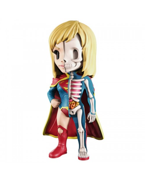 XXRAY x DC COMICS -  SUPERGIRL DISSECTED VINYL ART FIGURE (10cm)