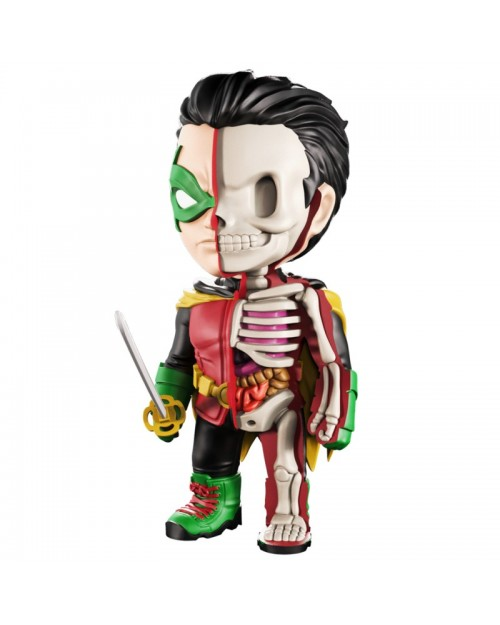 XXRAY x DC COMICS -  ROBIN DISSECTED VINYL ART FIGURE (10cm)