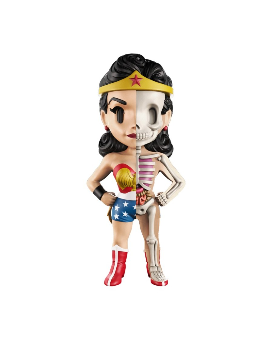 XXRAY x DC COMICS (THE GOLDEN AGE) -  WONDER WOMAN DISSECTED VINYL ART FIGURE (10cm)