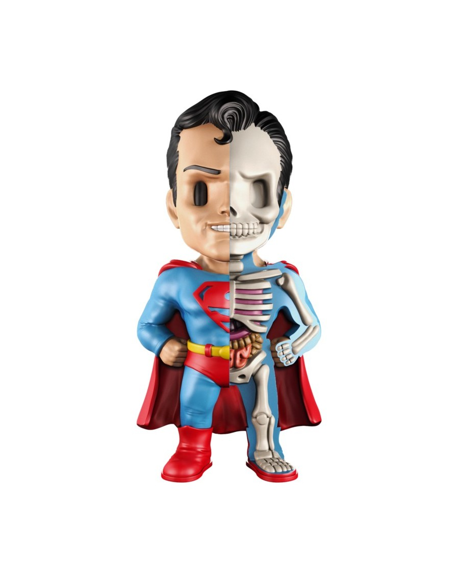 XXRAY x DC COMICS (THE GOLDEN AGE) -  SUPERMAN DISSECTED VINYL ART FIGURE (10cm)