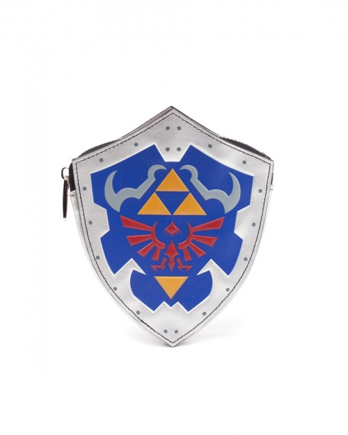 OFFICIAL NINTENDO - THE LEGEND OF ZELDA - HYLIAN SHIELD SHAPED COIN PURSE