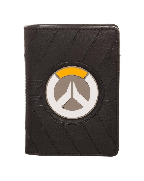 OFFICIAL OVERWATCH METAL LOGO VERTICAL WALLET