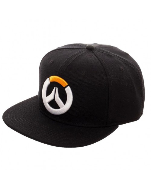 OFFICIAL OVERWATCH LOGO BLACK SNAPBACK CAP