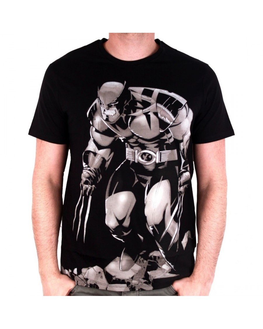 OFFICIAL MARVEL COMICS - OLD MAN WOLVERINE BLACK T-SHIRT