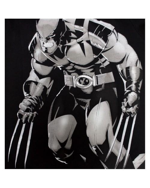 OFFICIAL MARVEL COMICS - OLD MAN WOLVERINE BLACK T-SHIRT