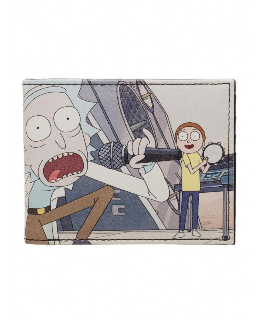 OFFICIAL RICK AND MORTY GET SCHWIFTY PU BI-FOLD WALLET
